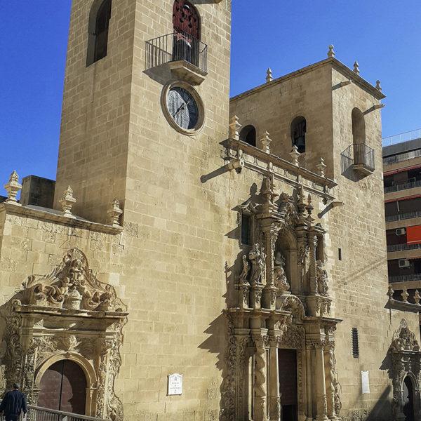 Basilica Santa Maria Alicante